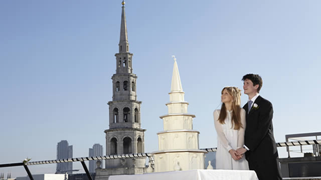st bride s church london wedding cake has its cake and eats it amp partners 20517