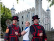 Gail Emms & Beefeaters