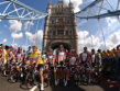 Riders on Tower Bridge