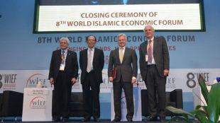 Left to Right - Ahmad Fuzi, Tun Musa, Alan Duncan,