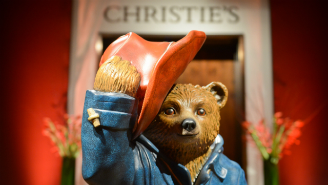 Michael Bond's Paddington Bear Christie's auction