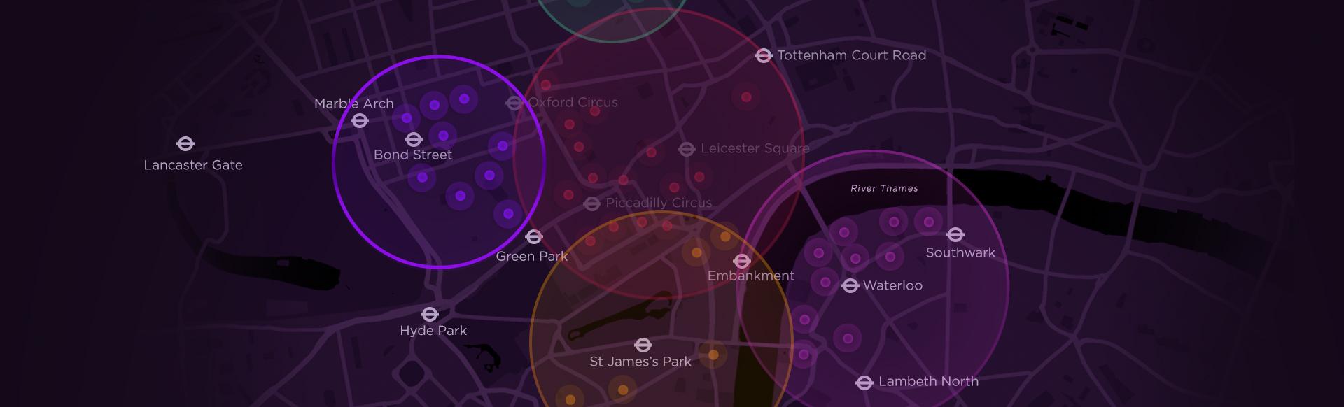 Marble Arch London Map.Lumiere London 2018 Mayfair Visitlondon Com