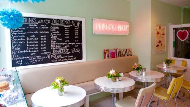 Primrose Bakery in Camden