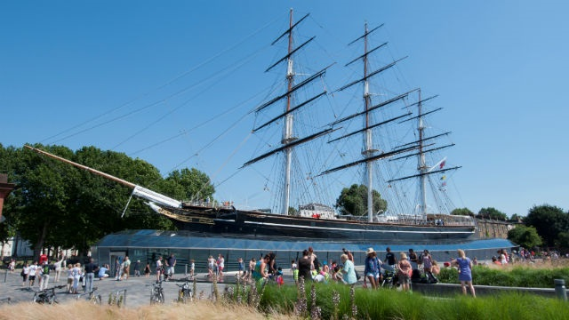 Cutty Sark. Photo: National Maritime Museum, London