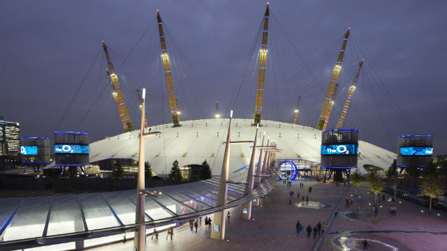 Greenwich by Tube - Night at the O2