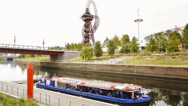 ArcelorMittal Orbit, Queen Elizabeth Park boat