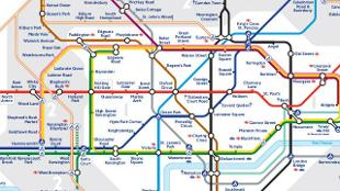 Large Tube Map Of London.Free London Travel Maps Visitlondon Com