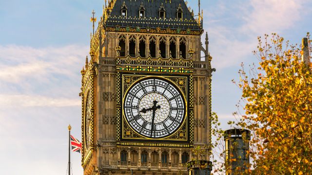 Palace of Westminster with Big Ben. Photo: Jon Reid