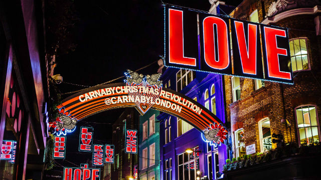 Carnaby Christmas Lights 2016