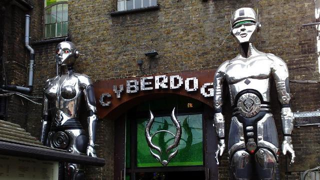 Camden Uk Cyber Dog