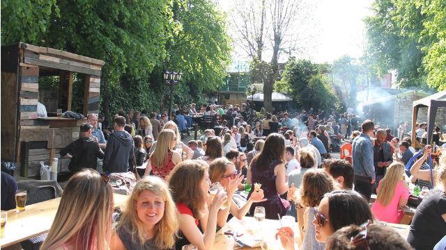 Best beer gardens in London