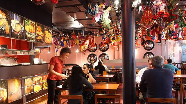 Cheap London restaurants