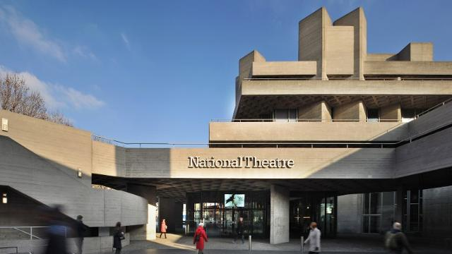 The National Theatre Building On The South Bank Is One Of Londonu0027s Foremost  Brutalist Structures. It Was Designed By Architects Sir Denys Landun And  Peter ...