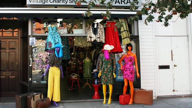 Best Vintage Fashion Shops In London Antiques Vintage Amp