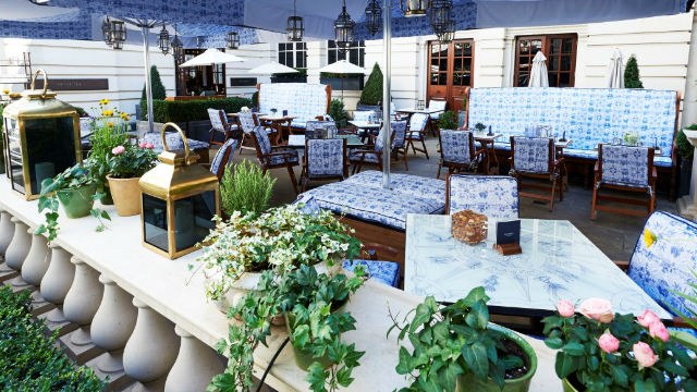 Best al fresco dining in london restaurant for Open terrace restaurants