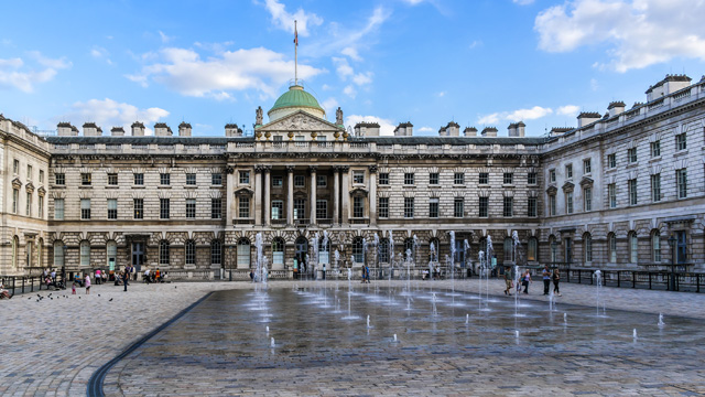 Somerset House Is Home To London S Courtauld Gallery With Its Collection Of Old Masters Impressionist And Post Paintings The Embankment