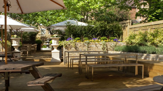 Best beer gardens in london pub bar - Village beer garden port chester ...