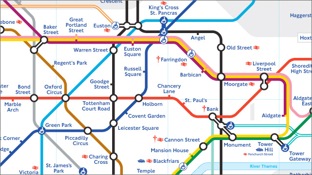 Map Of London Underground Free London travel maps   visitlondon.com