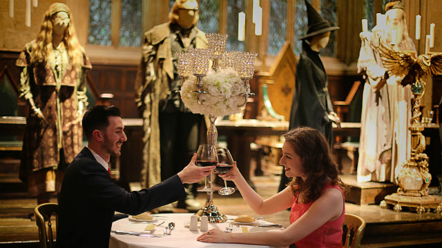 Valentine's Dinner in the Great Hall