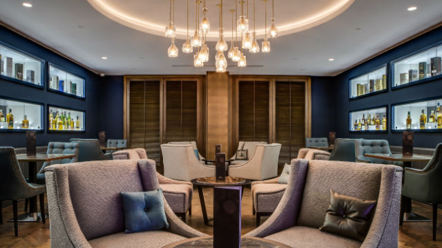 The Whisky Lounge At Hilton London Metropole