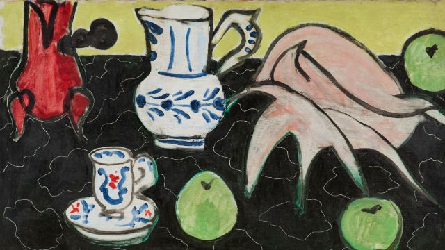 Henri Matisse, Still Life with Seashell on Black Marble. Copyright: Archives Henri Matisse