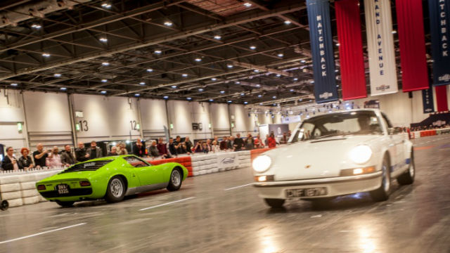 The London Classic Car Show At ExCeL London Fair Amp Show - Car show in london