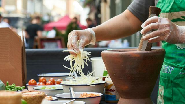 Carnaby Street Food Festival June