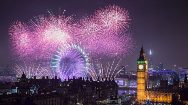1dad60f4def4c2 Get your friends and family together and see London light up for the new  year, with parties, fireworks, cruises and more on New Year's Eve in London.