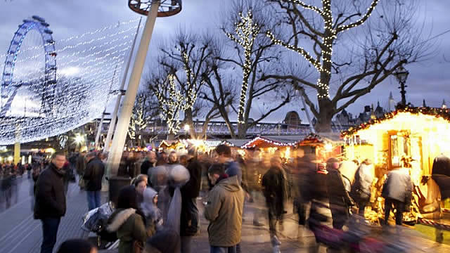Wintertime at Southbank Centre - visitlondon.com