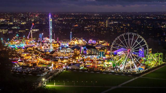 Winter Wonderland In Hyde Park Visitlondoncom - Winter wonderland london map 2016