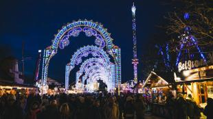 The Luminaries at Hyde Park Winter Wonderland
