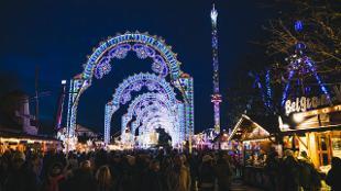 The Luminaries at Hyde Park Winter Wonderland