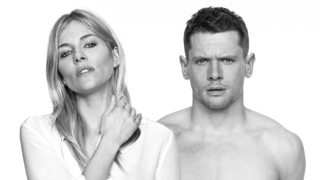 Sienna Miller and Jack O'Connell in Cat on a Hot Tin Roof. Photo: Charlie Gray